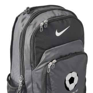 Personalised Let's kick it! Nike Backpack