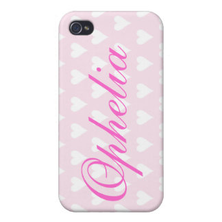 Personalised letter O girls name  iphone 4 case