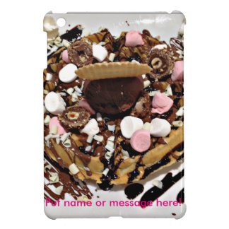 Personalised Marshmallow and Chocolate Cake iPad Mini Covers