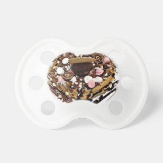 Personalised Marshmallow and Chocolate Cake Pacifier