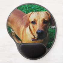 Personalised Mouse Mat With Wrist Support