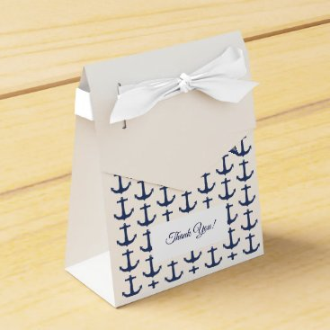 Beach Themed Personalised Nautical Theme Party Favour Box