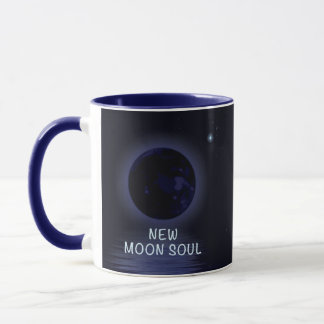 Personalised New Moon Phase Mug
