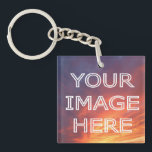 "Personalised Photo Double Sided  Keyring<br><div class=""desc"">Personalised double sided keychain with your own custom photo. Fun gift idea for a friend or loved one.</div>"