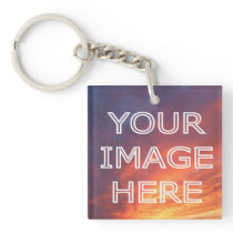 Personalised Photo Double Sided  Keyring