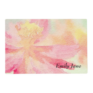 Personalised Pretty Floral Placemat