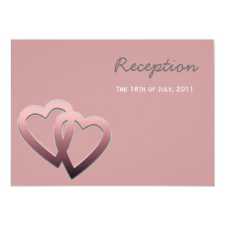 Personalised Reception Wedding Invite