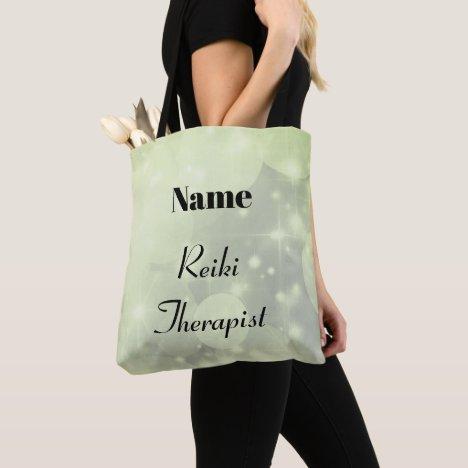 Personalised Reiki Therapist design Tote Bag