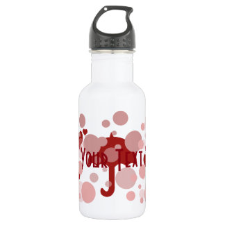 Personalised Romantic Baby Shower  Water Bottle