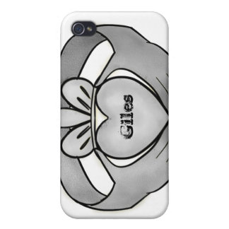 Personalised Silver Claddagh Ring Case For iPhone 4