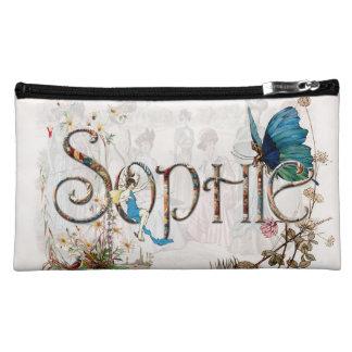 Personalised `Sophie' design Makeup Bags