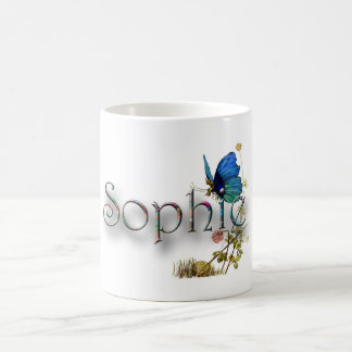 Personalised `Sophie' design Classic White Coffee Mug