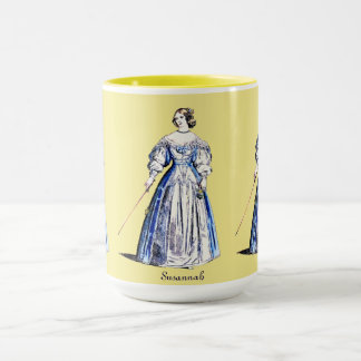 ~ Personalised SUSANNAH ~ Lady of Means ~ 1636 ~ Mug