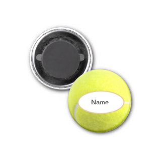 personalised tennis ball magnet