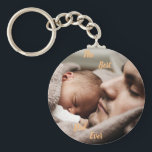 """Personalised The Best Dad Ever Keyring<br><div class=""""desc"""">Show your love for a special dad</div>"""