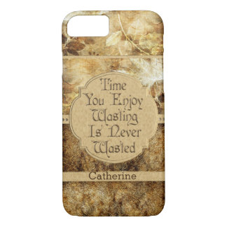 Personalised Time You Enjoy Wasting iPhone 8/7 Case
