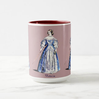 ~ Personalised VICTORIA ~ Lady of Means ~ 1636 ~ Mug