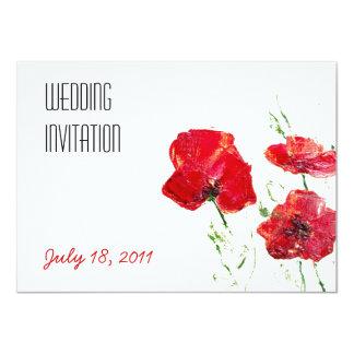 "Personalised Wedding / Anniversary Invitation 4.5"" X 6.25"" Invitation Card"