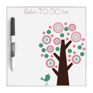Personalised White/Dry Ease Board - To do list. Dry Erase Board