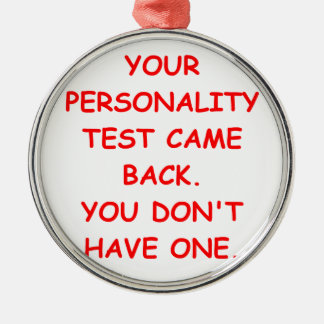 personality christmas tree ornament