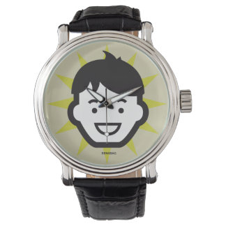 Personality Face No. 1 / Mens Watch Relojes De Mano