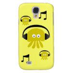 Personalizable amarillo enrrollado de Dee Jay de l