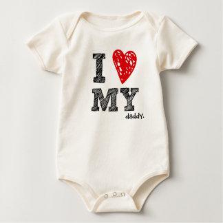 """Personalizable """"amo camisa del bebé de mi _"""""""