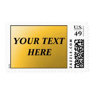PERSONALIZABLE - añada su propio texto Estampilla