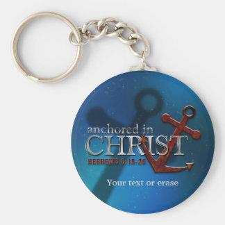 Personalizable anclado en el llavero de Cristo