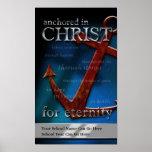 Personalizable anclado en el poster de Cristo