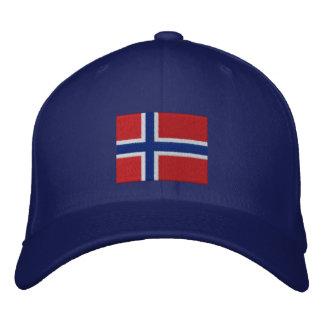 Personalizable anticuado de Noruega 2012 del EQUIP Gorras De Béisbol Bordadas