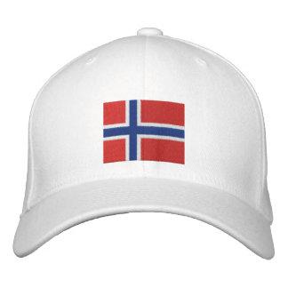 Personalizable anticuado de Noruega del EQUIPO Gorra De Beisbol Bordada