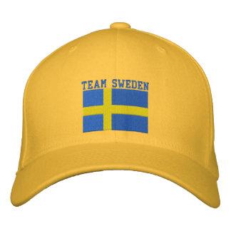 Personalizable anticuado de Suecia 2010 del EQUIPO Gorra De Béisbol Bordada