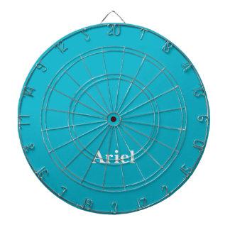 Personalizable azul del Caribe Tabla Dardos