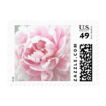 Personalizable Ballet Pink Peony Postage Stamps