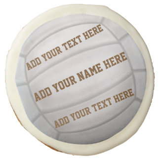 Personalizable Beach Volleyball Sugar Cookie