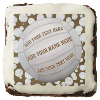 Personalizable Beach Volleyballs Brownie