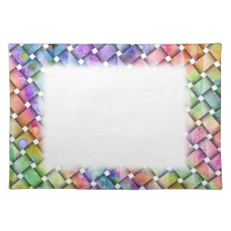 Personalizable BRIGHT WEAVE Fabric PLACEMAT