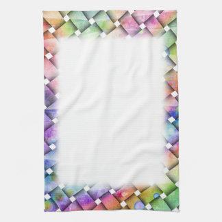 Personalizable BRIGHT WEAVE TOWEL