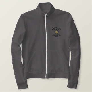 Personalizable Captain's Mate Yacht Flag Embroider Embroidered Jacket