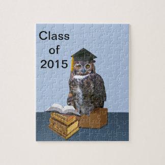 Personalizable chistoso 2015 del búho de la rompecabezas con fotos