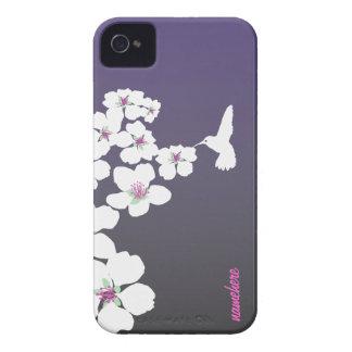 Personalizable: Colibrí iPhone 4 Cobertura