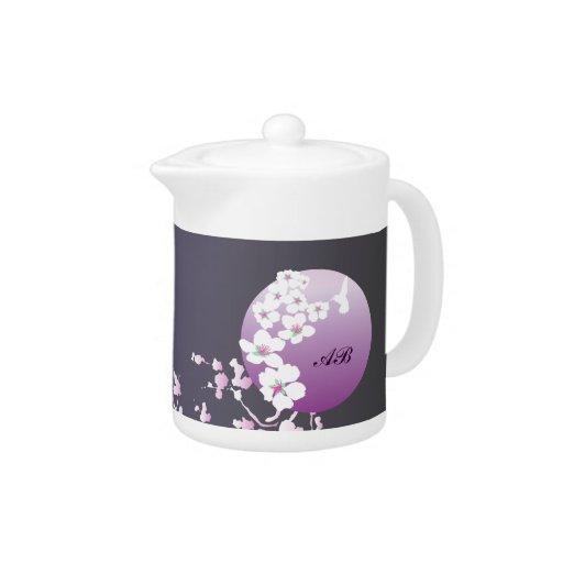 Personalizable: Colibrí y flor en púrpura