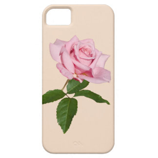 Personalizable color de rosa rosado iPhone 5 Case-Mate cárcasa