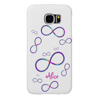 Personalizable Colorful Infinity Case Samsung Galaxy S6 Cases