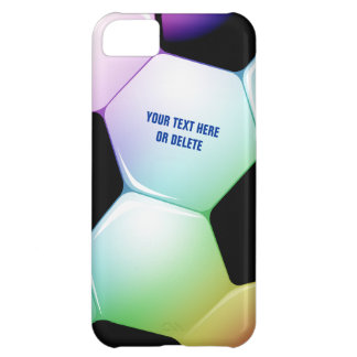 Personalizable Colorful Soccer Football iPhone 5 iPhone 5C Covers