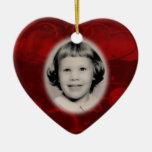 Personalizable conmemorativo del ornamento de la f ornamento para arbol de navidad