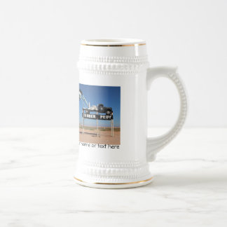 Personalizable Coober Pedy Outback Souvenir Beer Stein