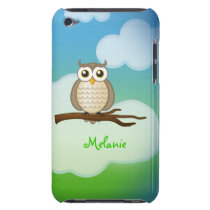 Personalizable Cute Owl  iPod Touch iPod Touch Cover