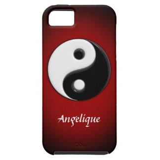 personalizable de 3D Yin Yang iPhone 5 Cobertura